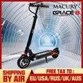 Macury Grace 8 Электрический Скутер Ховерборд 2 колеса 8 дюймов 36 В 350 Вт 48 в 52 в 500 Вт для взрослых и детей Zero 8 T8 самокат мини складной
