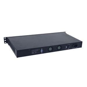 Image 4 - Yanling 19 Inch 1U Rack Server Intel Skylake Celeron 3855U Dual Core Firewall PC Barebone System 6 Lan Support AES NI pfsense