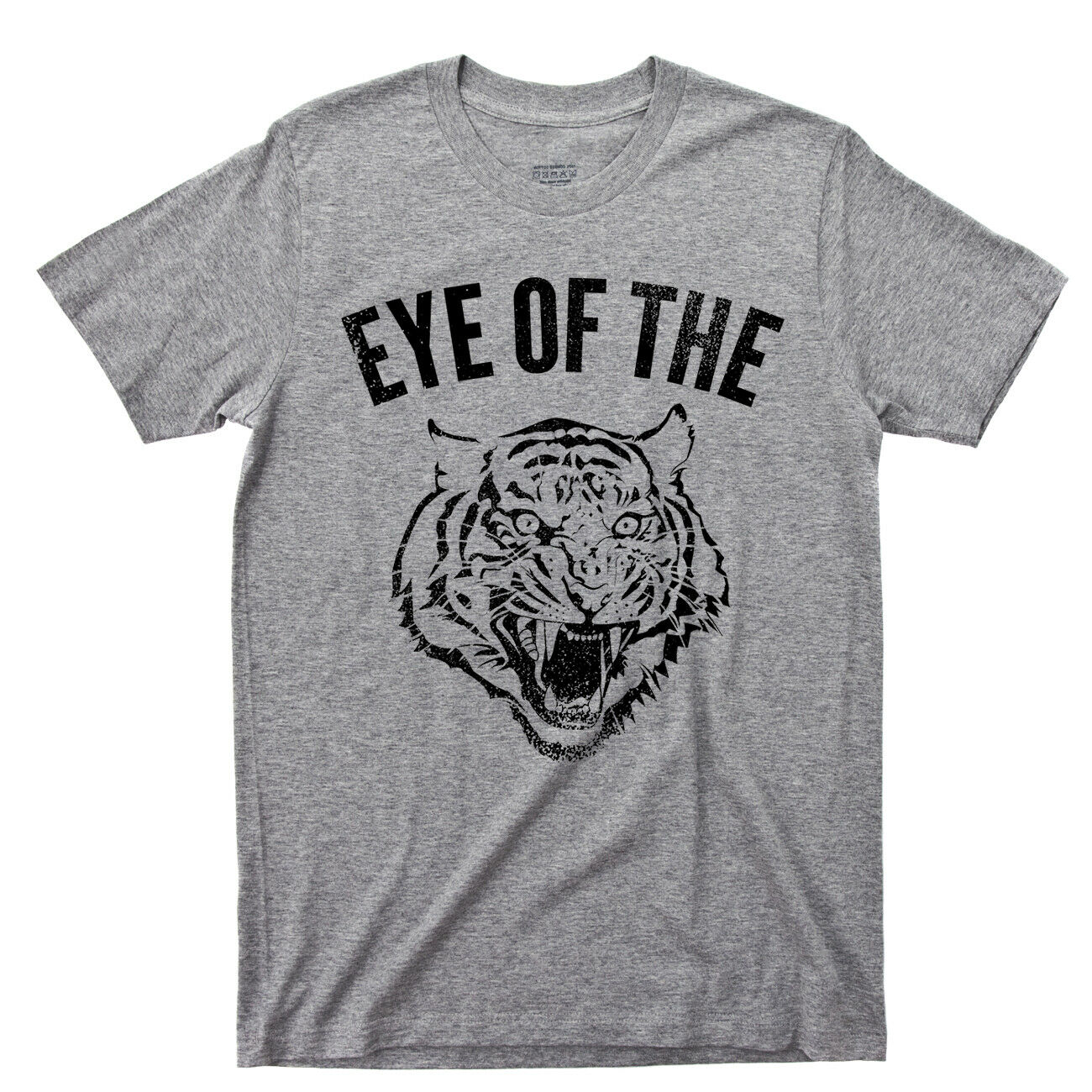 Eye Of The Tiger T Shirt Fighter Rocky Boxing Movie Survivor 80s Rock Music Tee image