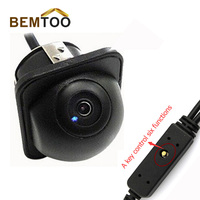 CCD Newest Car Front Rear View Camera Reverse Control Parking Line Image Upside Down Left And