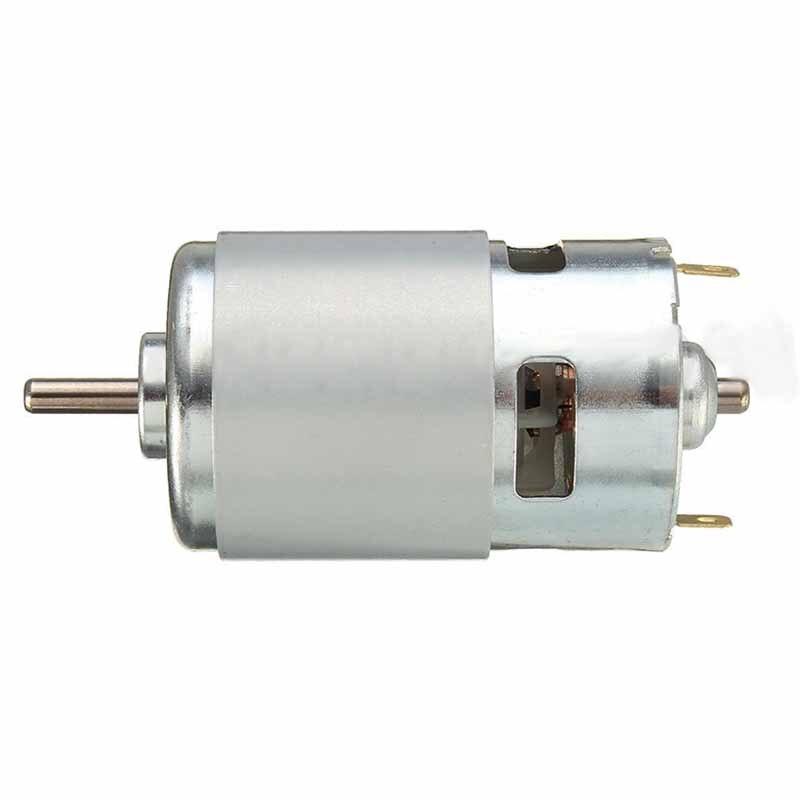 High power 775 motor dc 12v 24v large torque motor ball for Measuring electric motor torque