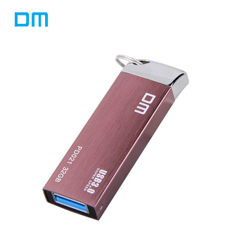 DM PD021 Metal USB Flash Drives 64G 32G 16G USB 3.0 High-speed Pen Drive Waterproof  Pendrive 128G USB Flash Disk Free shipping USB-флеш-накопитель