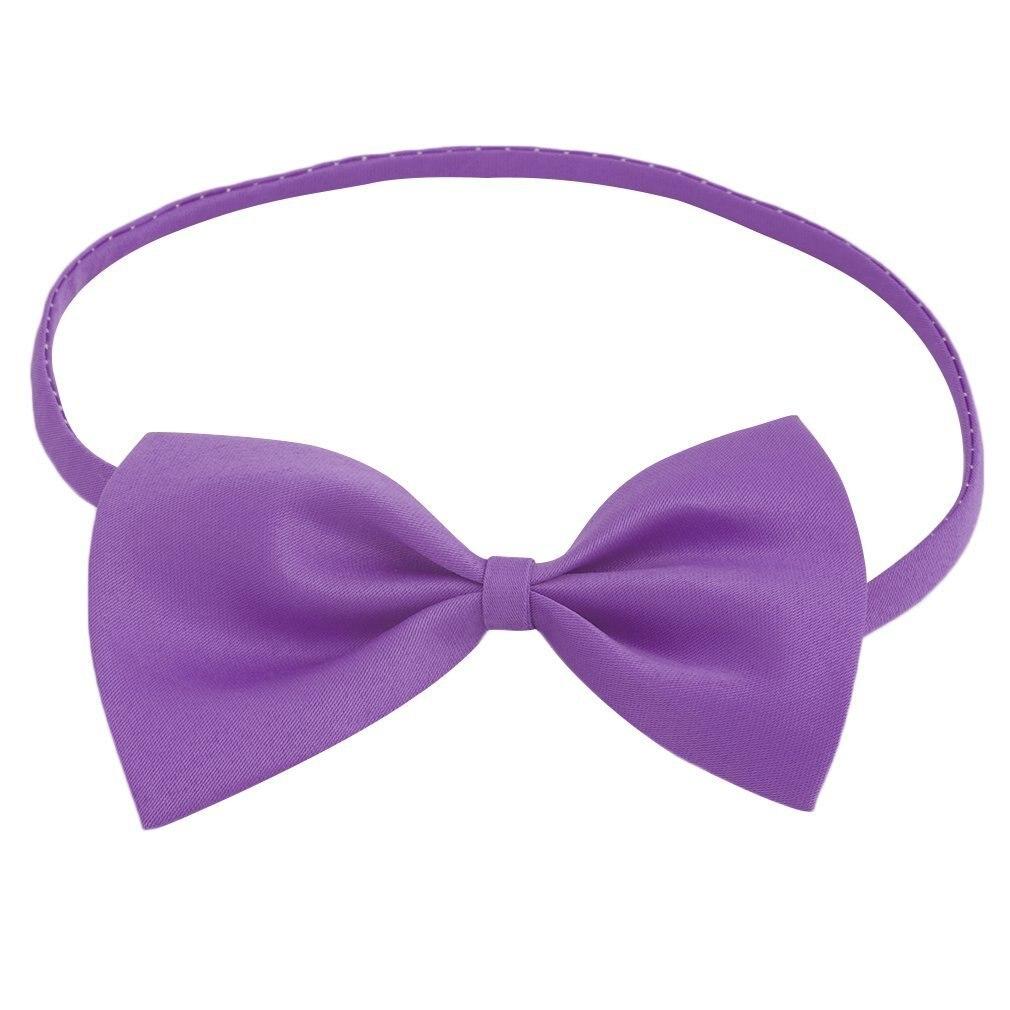 Fashion Bowtie Boys Girl Necktie Wedding Party Satin Bow Tie Girls