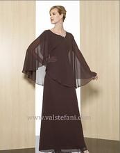 free shipping 2013 vestidos de fiesta formales new arrival long chiffon bridal elegant party evening dresses sleeve jacket