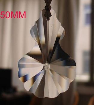 100pcs/lot 50mm crystal pendant lighting crystal pendant crystal bead curtain door Gourd Lighting Accessories
