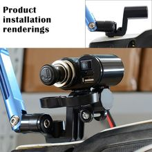 Motorcycle Rearview Mirror Extension Mount Bracket Holder for Motorbike Electric Cars ATVs with rearview mirror Acces