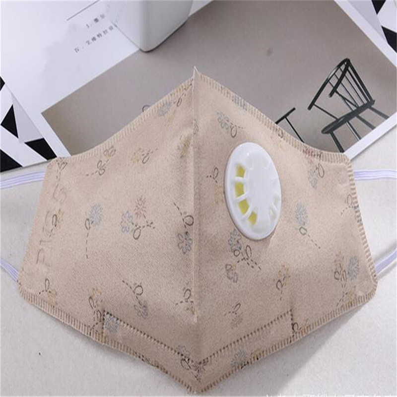 50pcs/Pack HS7 Korean Mask High-quality Cute Cartoon Adult Non-woven Fabric PM2.5 Anti-fog Haze Dust Fashion Masks Wholesale