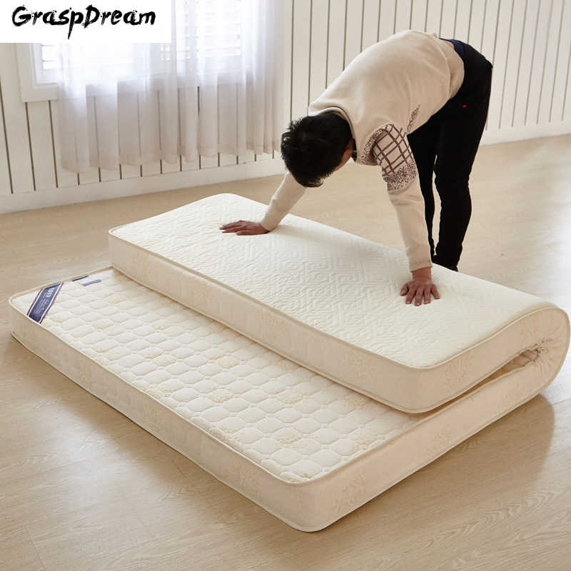 New Style High Resilience Memory Foam Mattress Classic Design White/Blue High Quality Thick Warm Comfortable Mattress