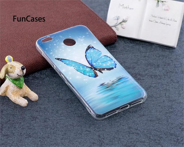 Luminous Case For Xiaomi Redmi 4X 4 X Redmi4X Silicon Soft TPU Patterned Phone Case For Xiaomi Redmi X4 Red mi 4X Redmi4 X Coque
