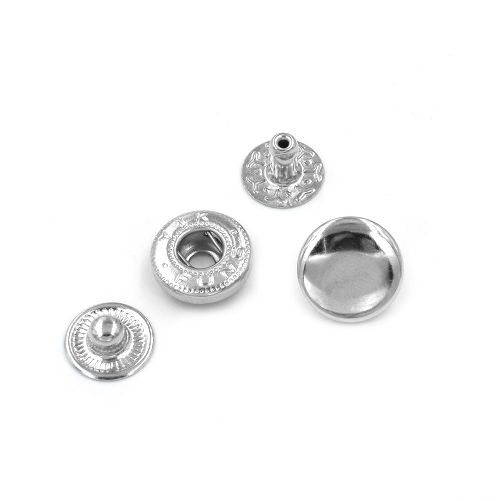 Image 5 - 500 sets /lot15mm Metal snap. fastener buttons, Rivet, T8 T5 T3  snaps jacket buttons Clothing