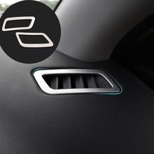 Чехол для приборной панели, подходит для Nissan Qashqai j11 2014 2015 2016 2017 2018, обшивка вентиляционного отверстия, внутренняя отделка, рамка с передней в...