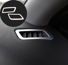 Pasuje do Nissan Qashqai j11 2014 2015 2016 2017 2018 Dashboard osłona otworu wentylacyjnego Bezel wnętrze udekorować przednia wkładka rama