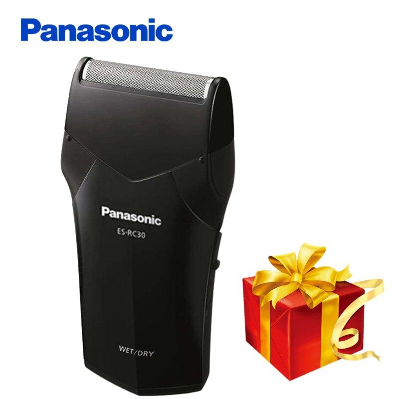 100% Original Panasonic Electric Shaver ES-RC30 Rechargeable Wash Dyr&Wet Ergonomics Handle For Men's Electric Razor dyr шапка dyr модель 276092140