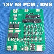 סוללת ליתיום יון 18 V 5S BMS PCM 18.5 V משמש 5S מערכת ניהול סוללה li ion 3.7 V סוללות חבילה