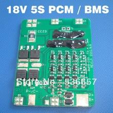 Bateria de íon de lítio de 18v, bms 5S pcm 18.5v sistema de gerenciamento de bateria de íon de lítio usado para baterias de 5S 3.7v pacote de pacotes