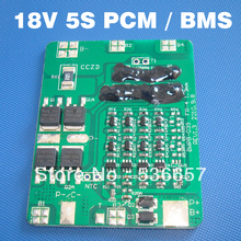 Batteria agli ioni di litio 18 V BMS 5 S PCM 18.5 V li ion battery management system Usato per 5 S 3.7 V batterie conf.