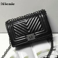 MTENLE Striped Crossbody Bag Women Messenger Bags Brand Popular Design Diamond Lattice Women Handbag Bags Lady