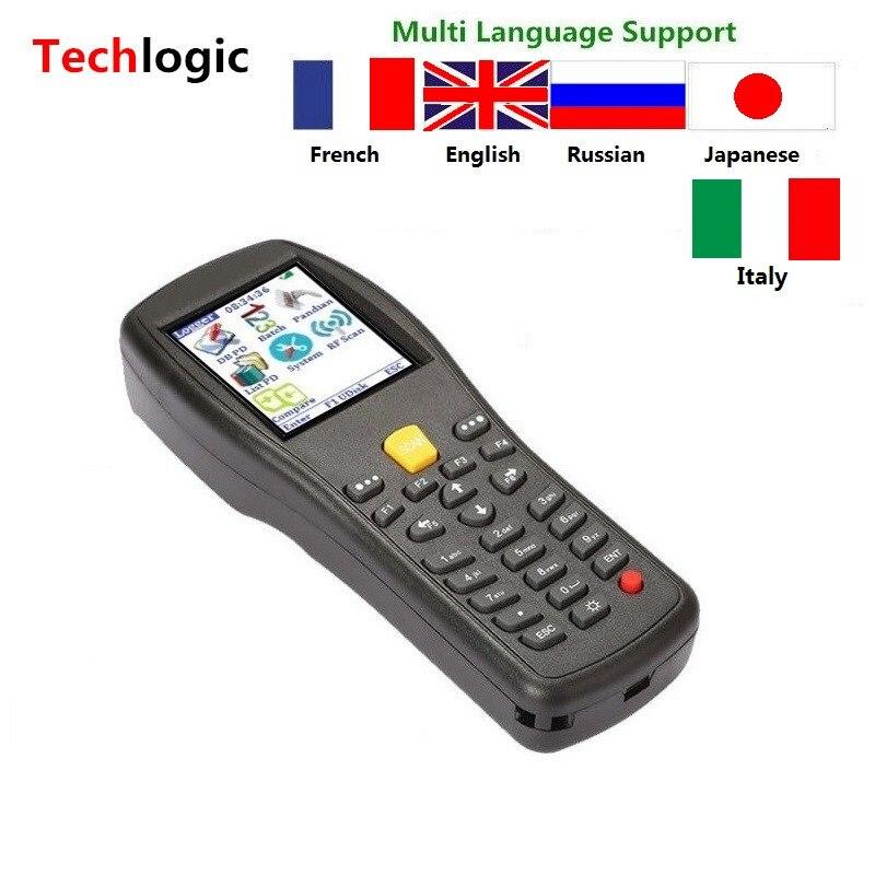 Techlogic X5 Wireless Laser Barcode Scanner Handheld Terminal PDA Warehouse Supermarket Inventory Display Product Information