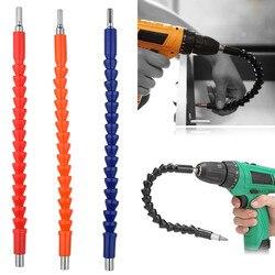 Eletrônica broca flexível bits de eixo extensão chave de fenda broca titular ligação chave de fenda ferramenta elétrica
