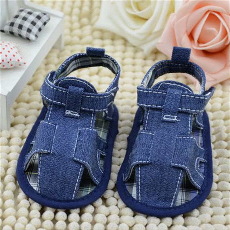 Fashion Baby Shoes  Summer Crib Solid Canvas Newborn Toddler Infant Kids Boys Denim Shoes Soft Anti-slip Sole First WalkersFashion Baby Shoes  Summer Crib Solid Canvas Newborn Toddler Infant Kids Boys Denim Shoes Soft Anti-slip Sole First Walkers