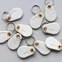 125Khz T5577 RFID EM Lesbar und Beschreibbar Access Control-Card Tags Keyfob Keychain 10 teile/los