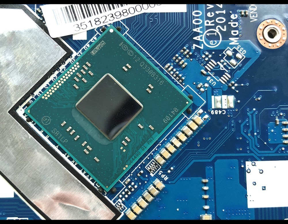 High quality FRU:90007064 for Lenovo C260 All In One Motherboard ZAA00 LA B001P SR1LP J1750 DDR3 100% Fully Tested-in Motherboards from Computer & Office    3