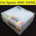 300 мл набор чернил для заправки картриджа T6531-T6539 T653A T653B для EPSON 4900 принтер с чипом Arc