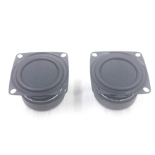2pcs 2 pollici 8 ohm 12W Bass Audio Altoparlante Centrale woofer Multimedia Altoparlante