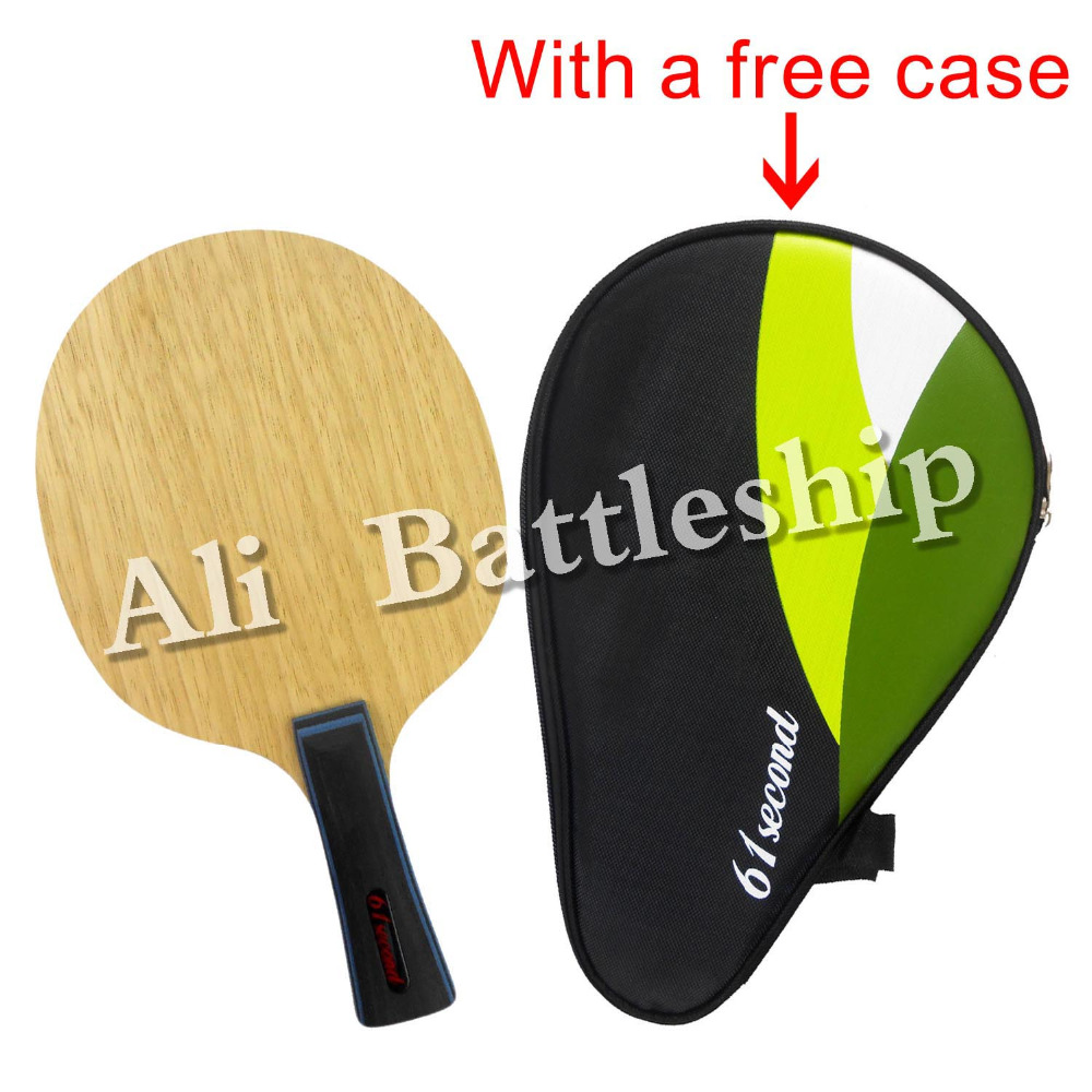 61segundo 3003 Súper ligero tenis de mesa / hoja de ping-pong (FL - Raquetas de deportes