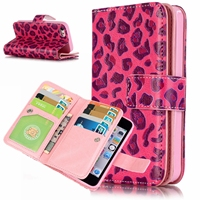 9 Card Holders Wallet Case For Apple IPhone 5S SE Case Luxury PU Leather Flip For