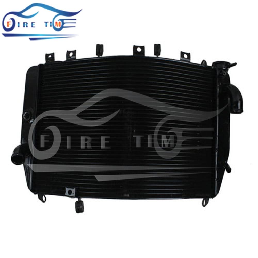 new style motorcycle radiator aluminum motorbike cooler radiator black For Kawasaki Ninja ZX-9R ZX900F ZX9R 2000 2001 2002  2003