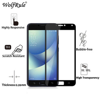 2pcs Glass Asus Zenfone 4 Max ZC554KL screen protector Film 2.5D Anti-Brust Tempered Glass For Asus Zenfone 4 Max ZC554KL Glass{
