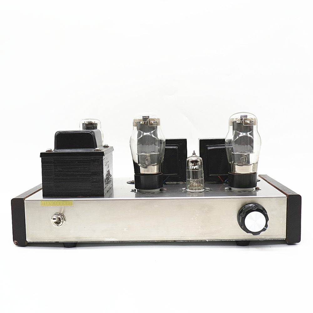 TIANCOOLKEI 6p3p vacuum tube amplifier DIY Single-ended Class A Loudspeaker amplifier Listen human voice music most suitable music hall 6n8p 6p3p hifi single ended pure class a tube amp vacuum power amplifier diy kit 100