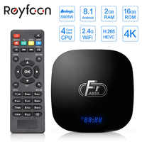 Android 8.1 Smart TV Box A95X F1 Amlogic S905W Quad Core 2GB 16GB Support H.265 4K 2.4GHz WiFi Media Player Set Top Box Youtube