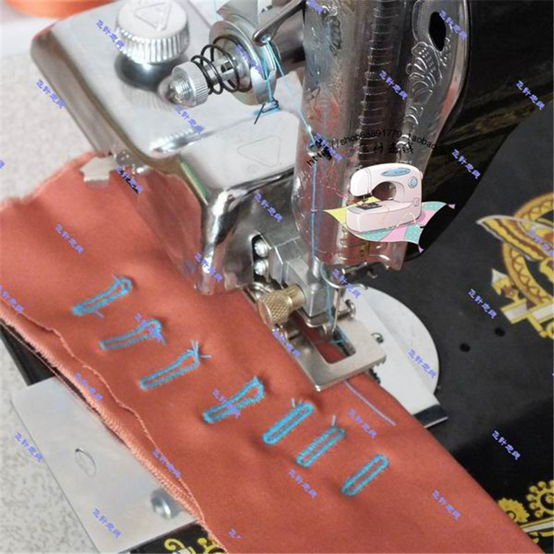 Domestic Sewing Machine Presser Foot, Adjustable Keyhole, Buttonhole Presser Foot, Button Eye Pressure, JA Series Sewing Machine