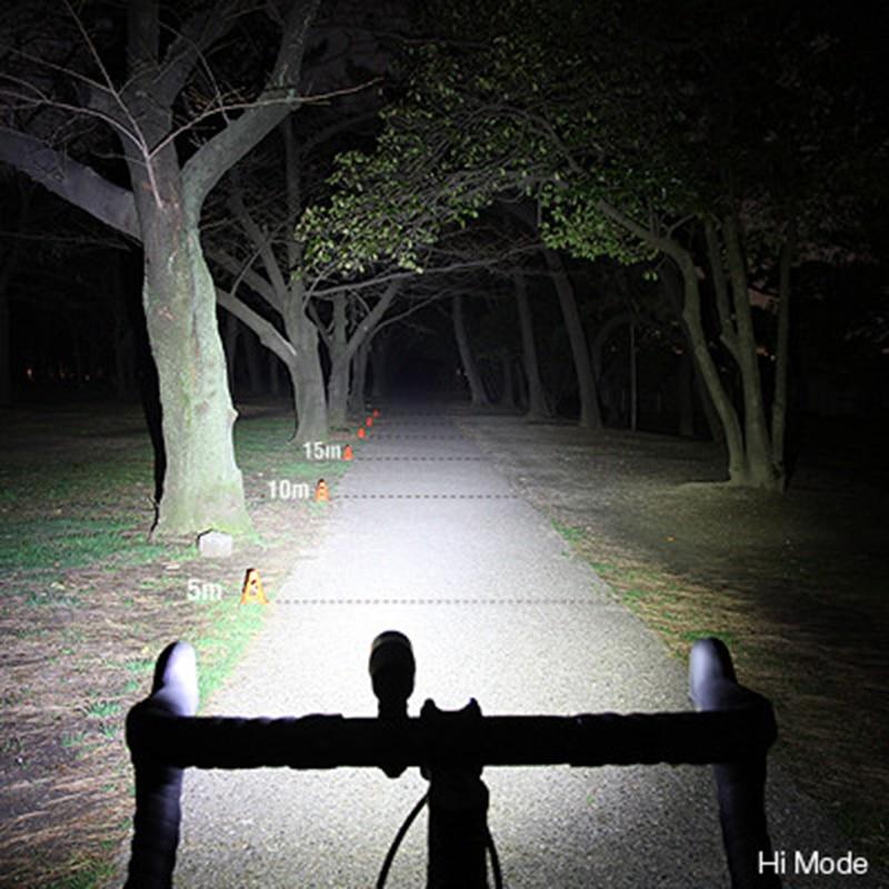 Cateye bicicletas luz portátil led 800 lumens lâmpada da bicicleta guiador luzes dianteiras ciclismo equitação luz de segurança lâmpadas 5 modos - 6