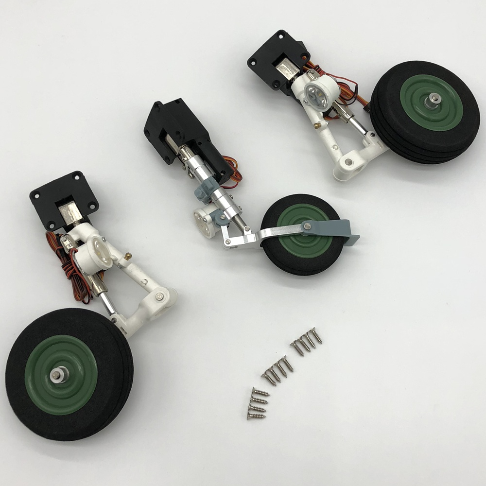Oyuncaklar ve Hobi Ürünleri'ten Parçalar ve Aksesuarlar'de Freewing Yak130 90mm Jet Iniş dişli seti RJ3011 08'da  Grup 1