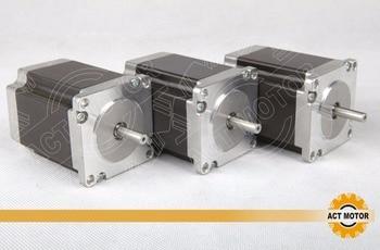 3pcs/lot!  Nema 23 268OZ-IN 3A  76mm hybrid stepper motor  CE,ROSH,ISO9001