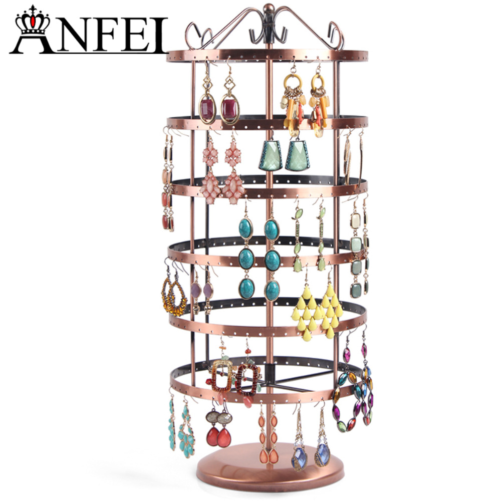 Exhibition Stand Organizer : Anfei jewelry display rack stand