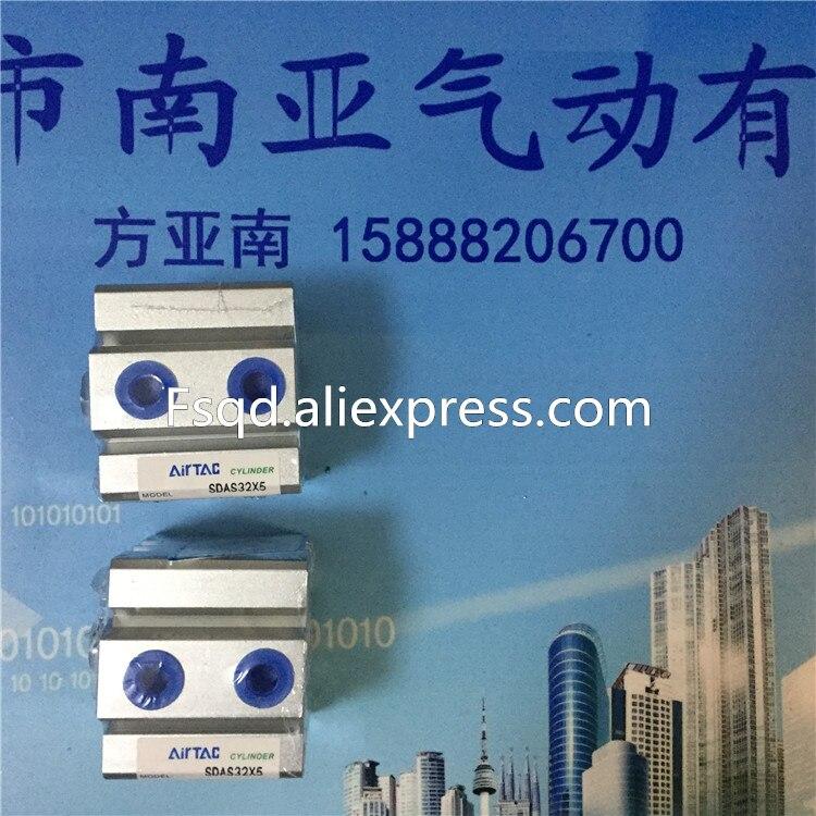 SDA32*15B Airtac thin cylinder pneumatic components. new original pneumatic ultra thin cylinder acq16x30 s b