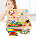Обучение Образование Математика Игрушки Больше Функции Хорошие Часы Цифровой Коробки Исследования Цвет Расчет Игры Box Дети Раннего Детства Игрушки