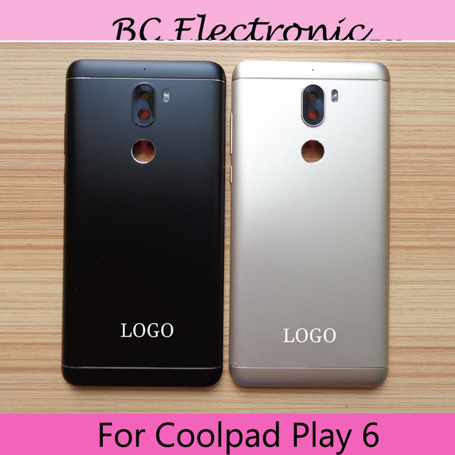 timeless design 5b216 2d4a6 Original For Coolpad Cool 6 play Cool6 cool play 6 Back Cover Battery Door  Housing Case and back camera glass Repair Parts -in Mobile Phone Housings  ...