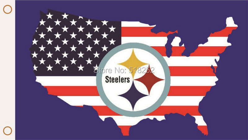 Compare Prices On Steelers American Flag Online ShoppingBuy Low - China map in us flag