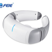 FEIE Electric pulse Neck massager health care Cervical therapy instrument Charge patch massage Remote for elderly adult S 305
