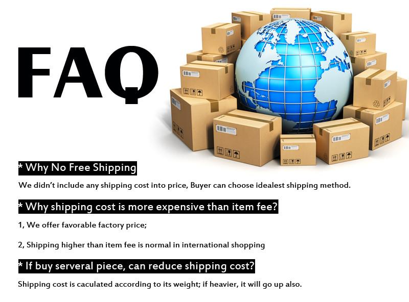 Shipping Cost FAQ