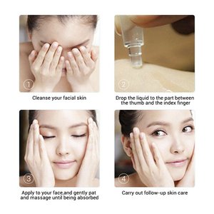 Image 4 - BAIMISS 8pcs Hyaluronic Acid Serum Face Cream Moisturizing Nourish Acne Treatment Skin Care Night Cream Facial Whitening Essence