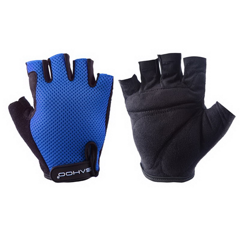 EA14 Outdoor Bike Black Bicycle Breathable Sport Cycling Half FInger Cycling font b Gloves b font