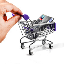 BOHS мини супермаркет тележка для покупок настольная модель детские игрушки
