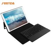 Для Apple iPad Pro 12,9 клавиатура + кожаный чехол 3,0 Bluetooth клавиатура/крышка со съемной Беспроводной клавиатура/ карандашница