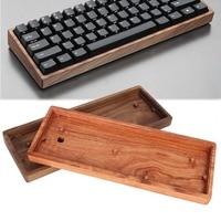 60% Mechanical Keyboard Solid Wood Case Poker Compact Mini GH60 Faceu 60 Keyboard Wooden Shell Base Wooden Frame